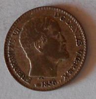 Dánsko 4 Schilling 1856