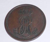 Hannover 2 Pfenik 1850 B