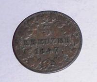 Mossen 3 Krejcar 1847