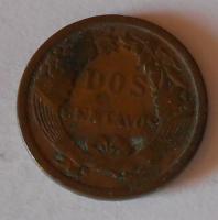Peru 2 Cent 1895