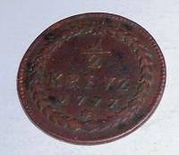 Pfalz 1/2 Krejcar 1777