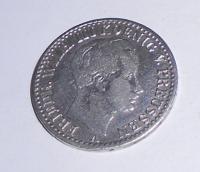 Prusko 1/6 Tolar 1823 Fridrich Wilhelm