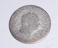 Prusko 1 Groš stříbrný 1856 A