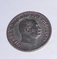 Prusko 1 Groš stříbrný 1868 A Vilhelm I.