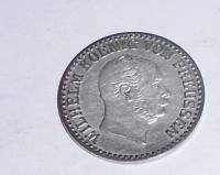 Prusko 1 Groš stříbrný 1866 A Vilhelm I.