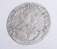 Prusko 1 Haléř 1753 Fridrich