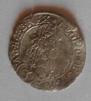 Rakousko-Sv. Vít 3 Krejcar 1669 Leopold I.