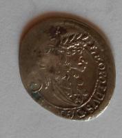 Rakousko-Sv. Vít 3 Krejcar 1700 Leopold I.