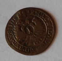 Slezsko-Vratislav 1 Krejcar 1672 Leopold I.
