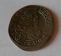 Slezsko-Vratislav 3 Krejcar 1695 Leopold I.