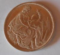 Švýcarsko 5 Frank 1865 Schutzenfest novoražba 17,7 g