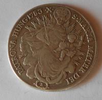 Uhry-B Tolar 1783 Marie Terezie měl ouško
