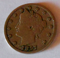 USA 5 Cent 1897