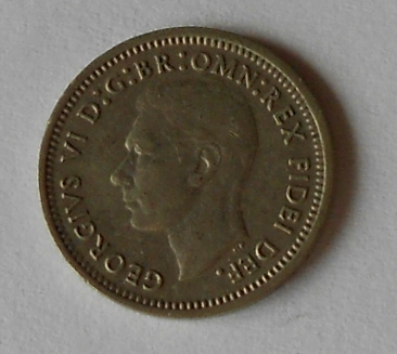 Austrálie 3 Pence 1951