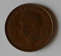 Austrálie Half peny 1949