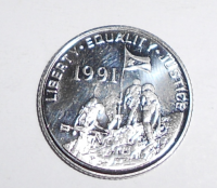 Eritrea 10 Cent 1991