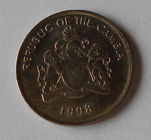 Gambie 25 Bututs 1998