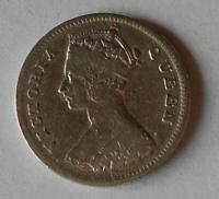 Hong-Kong 10 Cent 1918