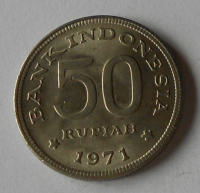 Indonésie 50 Rupie 1971