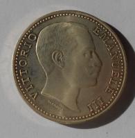 Itálie 5 Lira 1901 novoražba 23,1g