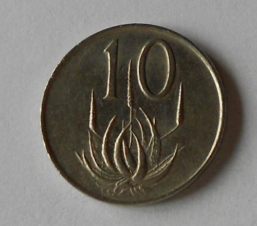 Jižní Afrika 10 Cent 1977