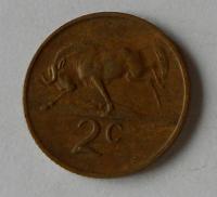 Jižní Afrika 2 Cent 1970