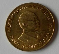 Keňa 10 Cent 1984