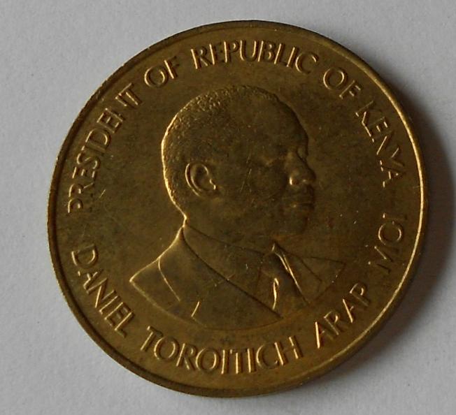 Keňa 10 Cent 1987