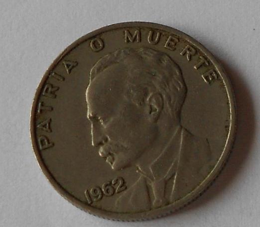 Kuba 10 Cent – Marti 1962