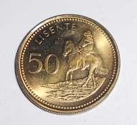 Lesothe 50 Lisente 1998