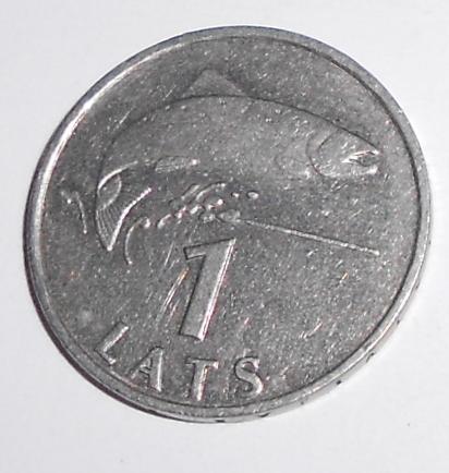 Lotyšsko 1 Lats 1992