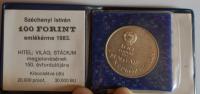 Maďarsko 10 Jorint + etue 1983