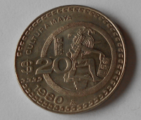 Mexiko 20 Dollar 1980