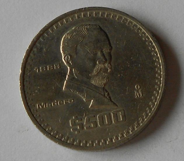 Mexiko 500 Pesos 1988