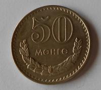 Mongolsko 50 monge 1970