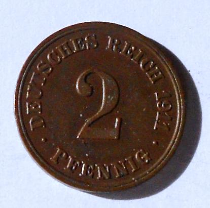 Německo 2 Pfenik 1911 E