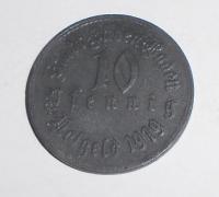 Německo-Baden 10 Pfenik 1919 stav