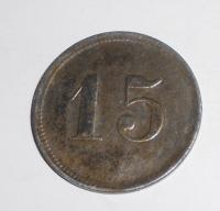 Německo-Chemnitr 15 Pfenik