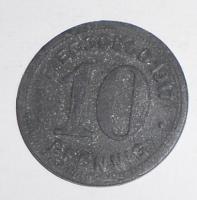 Německo-Elderfeld 10 Pfenik 1917 nouzovka