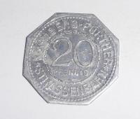Německo-Fürther 20 Pfenik novoražba