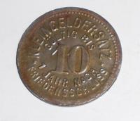 Německo-Kleingeldersat 10 Pfenik 1918 novoražba