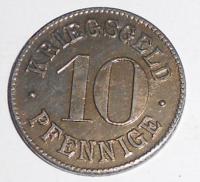 Německo-Kriegsgeld 10 Pfenik stav, novoražba