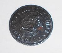 Německo-Kriegsgeld 50 Pfenik 1920 stav, novoražba