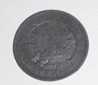 Německo-Mettman 50 Pfenik 1917 nouzovka