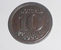Německo-Notgeld 20 Pfenik 1920 stav