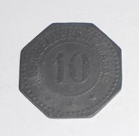 Německo-Writtenberg 10 Pfenik 1917 novoražba