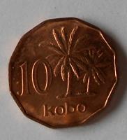 Nigérie 10 Kobo 1991