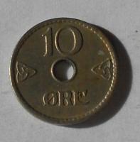 Norsko 10 Öre 1940
