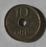 Norsko 10 Öre 1941