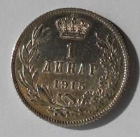 Srbsko 1 Dinár 1915